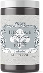 Cathedral, Heritage Collection All In One Chalk Style Paint (NO WAX!) (32oz)