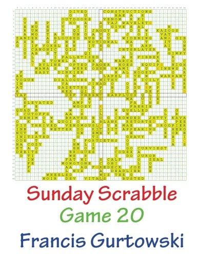 Download Sunday Scrabble Game 20 pdf
