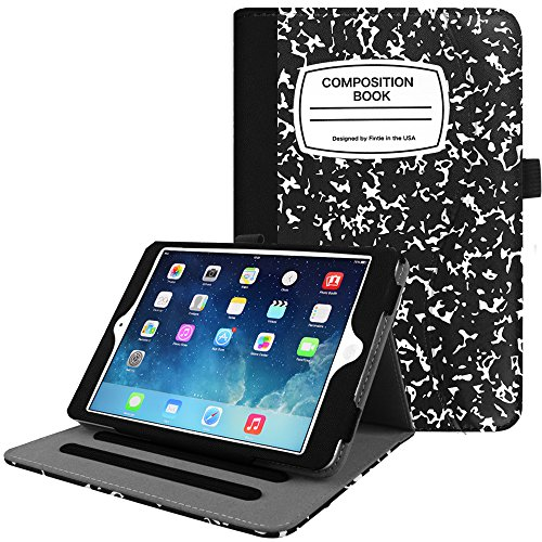 Fintie iPad Mini/Mini 2 / Mini 3 Case [Corner Protection] - [Multi-Angle Viewing] Folio Smart Stand Protective Cover with Pocket, Auto Sleep/Wake for Apple iPad Mini 1/2 / 3, Composition Book