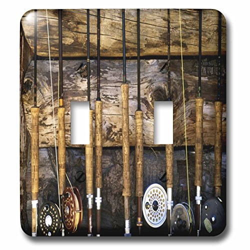 3dRose  lsp_60625_2 Country Fishing Double Toggle (Fishing Photograph)