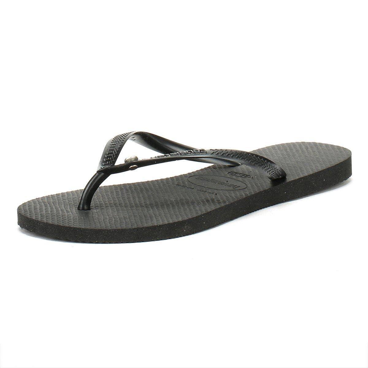 3be2cde15eb09 Havaianas Kids Slim Crystal Glamour Black - 33 34-uk1 2  Amazon.co.uk   Shoes   Bags