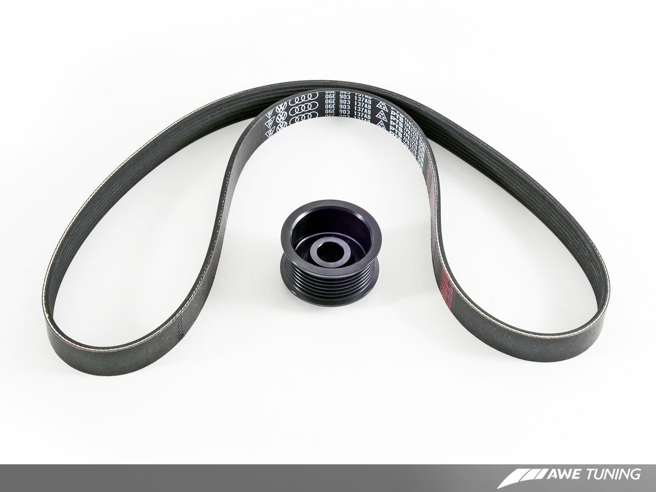 AWE Tuning 2410-11020 B8.5 Stage 2 Performance Pulley Kit