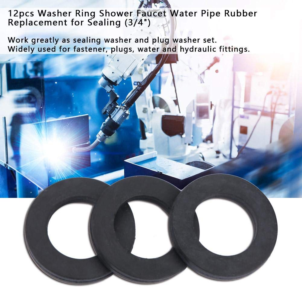 Pipe Ring Plugs 3//4 Water and Hydraulic Fittings 12 Pcs Washer Ring for Fastener