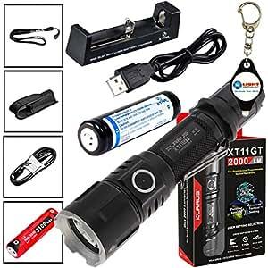 Amazon.com: Klarus XT11GT Tactical Rechargeable Flashlight ...