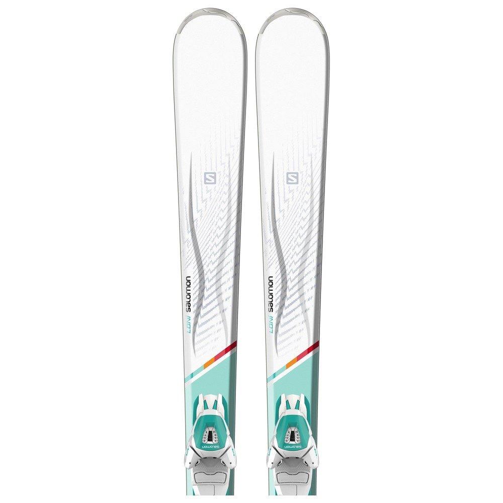 SALOMON Damen Ski Set Loni 151 + Lithium 10 W L80: