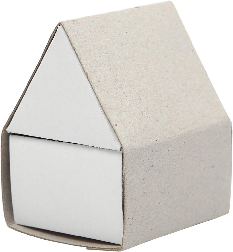 caja de cerillas, casa, medidas 5,5x4,8x6,5 cm, 10ud: Amazon.es: Hogar