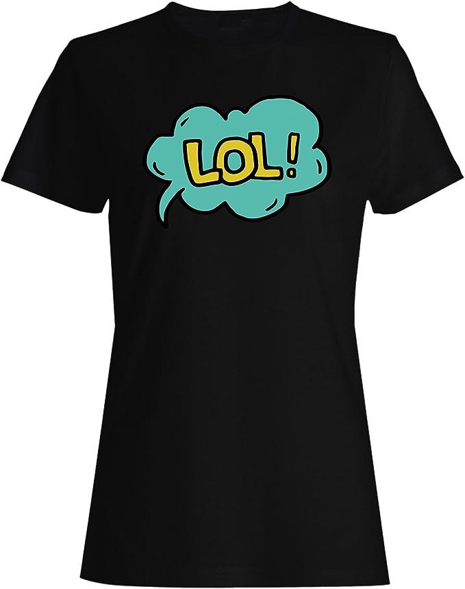 Nueva Animación Lol Comic camiseta de las mujeres l797f: Amazon.es: Ropa y accesorios