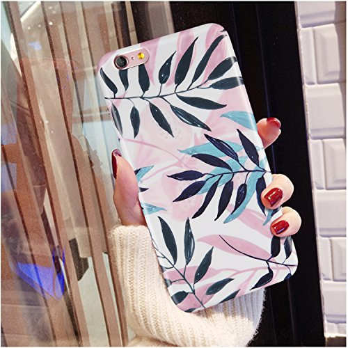 iPhone 6 Plus Case, iPhone 6s Plus Case,for Women Girls,LUMARKE Clear Bumper Matte TPU Soft Rubber Silicone Protective Cover Cute Phone Case for iPhone 6 Plus 6s Plus
