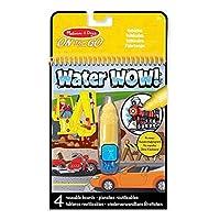 Melissa & Doug Others Bloc Revelador para Colorear con Agua, Vehículos