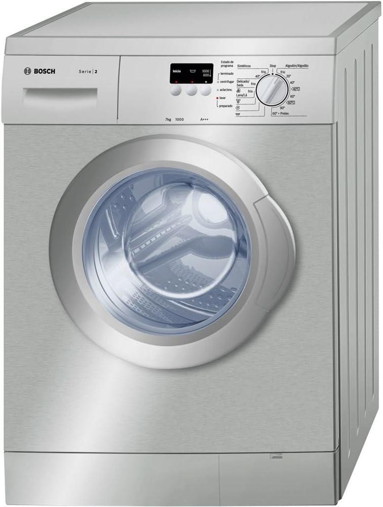 Bosch WAE2007XES - Lavadora De Carga Frontal Wae2007Xes De 7 Kg Y ...