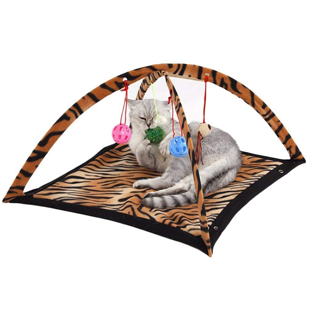 Pet Cat Bed Pet Cat Dog Play Activity Fun Playing Toy Bed Cat Play Tents