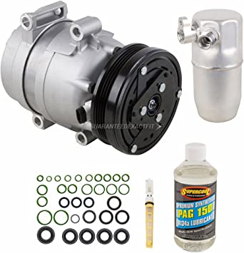 BuyAutoParts 60-81460RK NEW For Chevy Corvette 2000 2001 2002 2003 2004 AC Compressor w//A//C Repair Kit