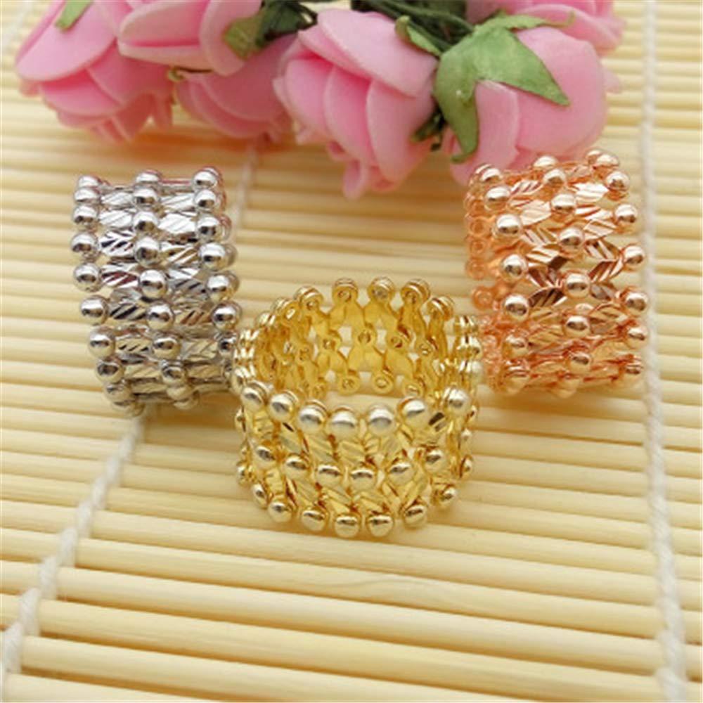 Silver 6 Smart.A Magic Ring Bracelet Telescopic Ring Change Bracelet Couple Models a Dual-use