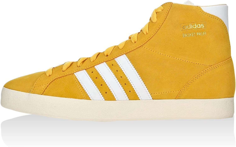 adidas Sneaker Alta Basket Profi Giallo EU 43 13: Amazon.it