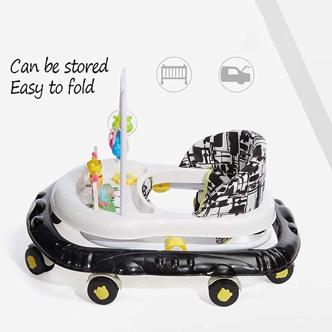 YOLL Multi-Funcional Andador bebé, con música antivuelco ...