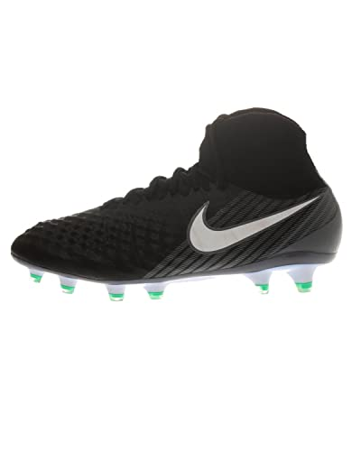 outlet store b9e31 d4f0b Nike Magista Obra II FG, Chaussures de Football Homme, Noir (Black White