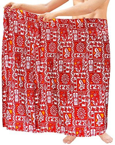 (LA LEELA Soft Light Printed Surf Beach lounge Wrap Mens towel 72