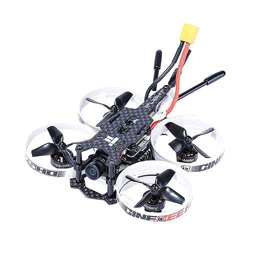 Masrin Dron de Carreras 75HD Indoor FPV cuadricóptero 75 mm Whoop ...