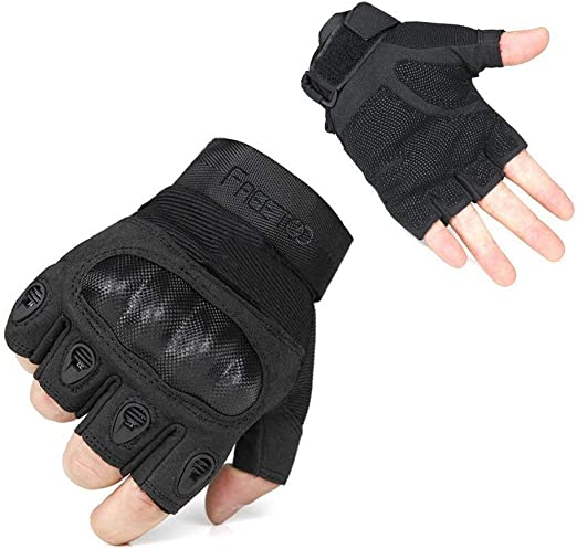 Tactical Knuckle Protector Gloves*Combat Training Boxing Hunting*Self Defence MA