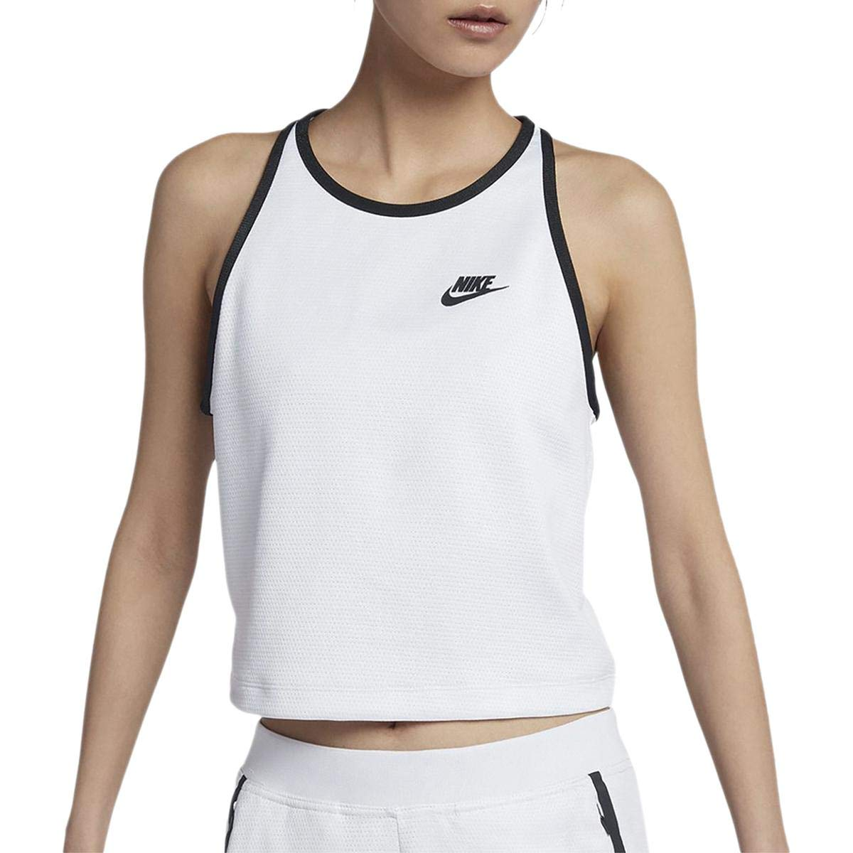 Nike Womens Yoga Fitness Tank Top White L at Amazon Womens ...