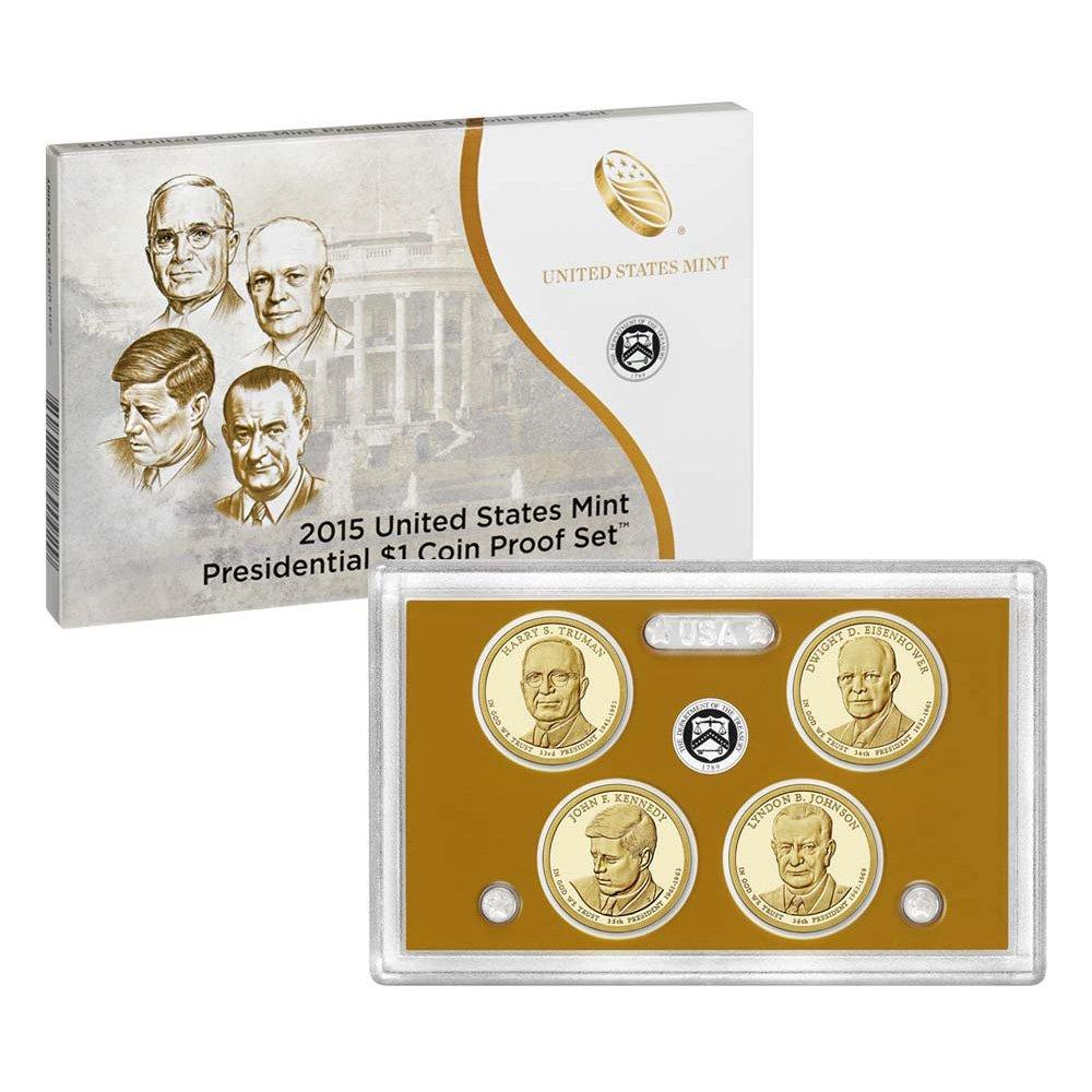 2015 Dwight David Eisenhower Presidential S Dollar Proof