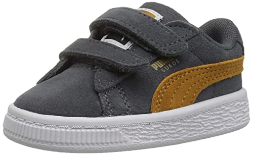 c4a72b161e911b PUMA Suede Classic Velcro Kids Sneaker  Buy Online at Low Prices in India -  Amazon.in