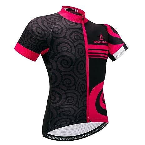 2e718b70a21 Amazon.com : Uriah Women's Cycling Jersey Short Sleeve : Sports ...