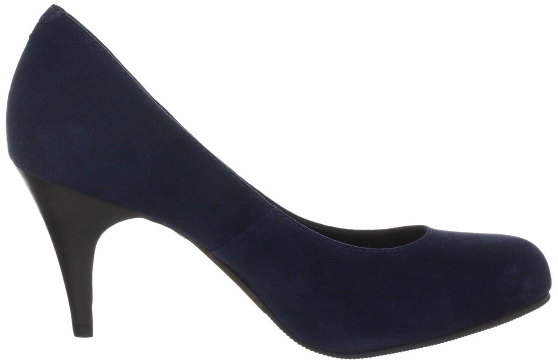Buffalo London 9681-525 KID SUEDE 124534 Damen Damen Damen Pumps Blau (IslandBlau 01) 11abe9