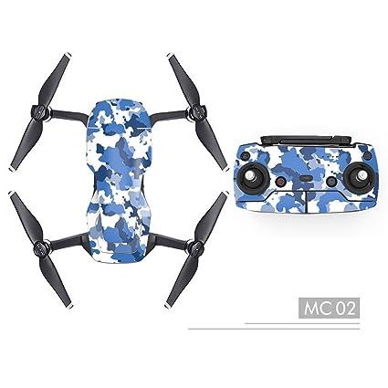 Qiyun Pegatinas Drone, Pro Adhesivo Impermeable, Decorativo ...