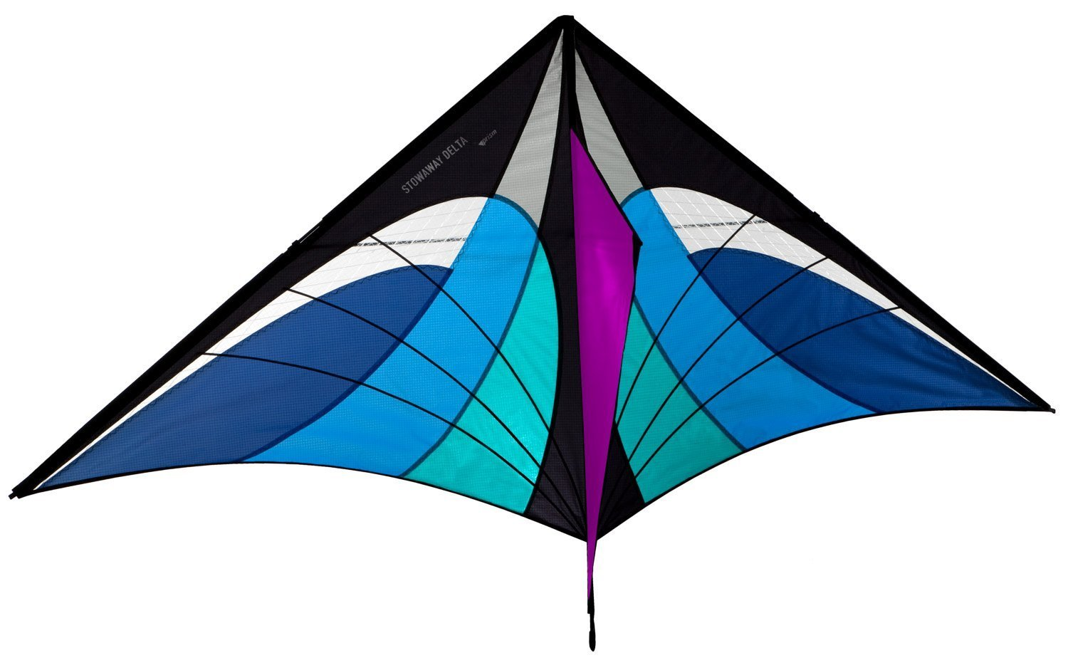 Prism Stowaway Delta Kite (Ice) by Prism Kite Technology