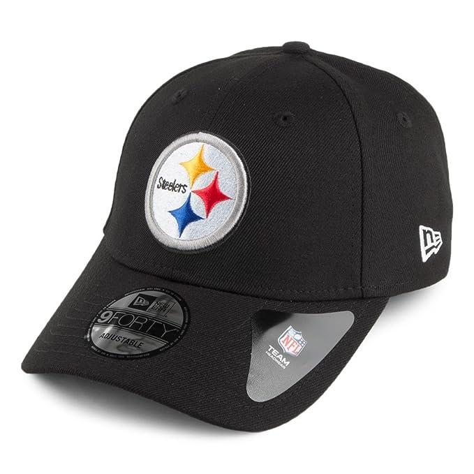 Gorra de béisbol 9FORTY League Pittsburgh Steelers de New Era - Negro -  Ajustable  Amazon.es  Ropa y accesorios b83e7dc1ec8