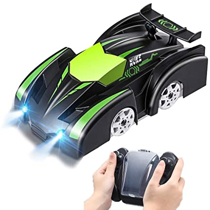 Amazon Com Szjjx Wall Climbing Rc Car 2 4 Ghz Radio Controlled Mini