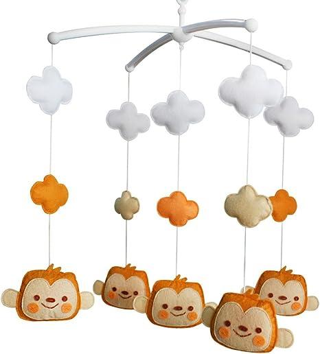 Mono] Accesorios para juguetes educativos de cunas para bebés ...