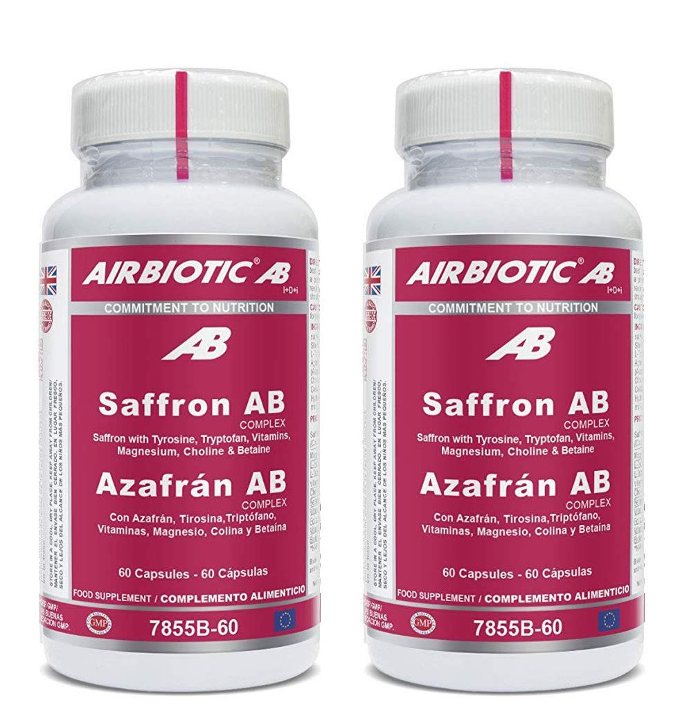 Azafrán AB Complex. 60 cápsulas (Pack 2 u.): Amazon.es ...