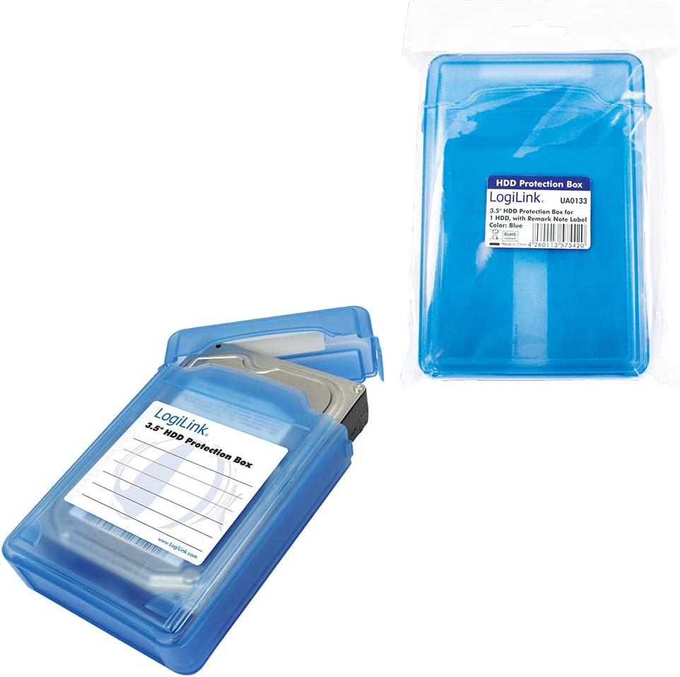 Logilink Ua0133 Festplatte Schutzhülle Für 1x 8 9 Cm Computer Zubehör