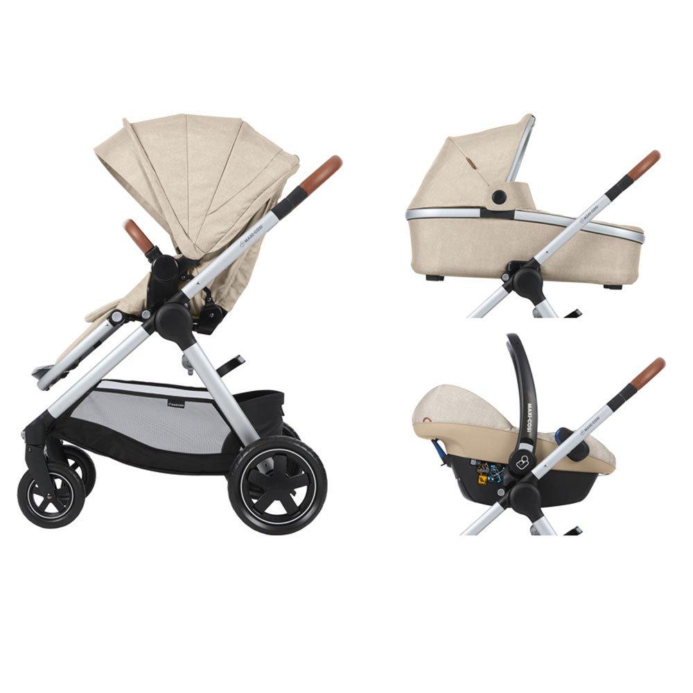 maxi-cosi 1310332110 adorra komfortabler nevera cochecito, color beige: Amazon.es: Bebé