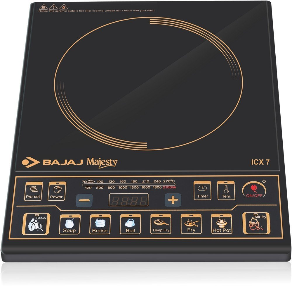 Buy Bajaj Majesty Icx 7 1900 Watt Induction Cooktop Black Online Cooker Circuit Board N08 Bo At Low Prices In India