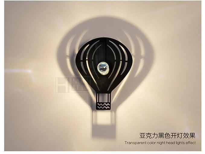 Fiona dan lampada da comodino lampade da parete applique ragazzo