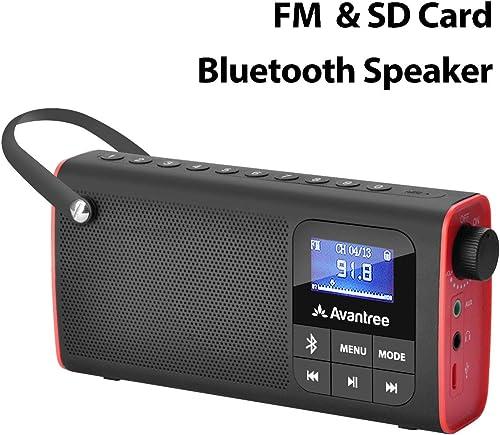 Avantree Portable FM Radio With Bluetooth