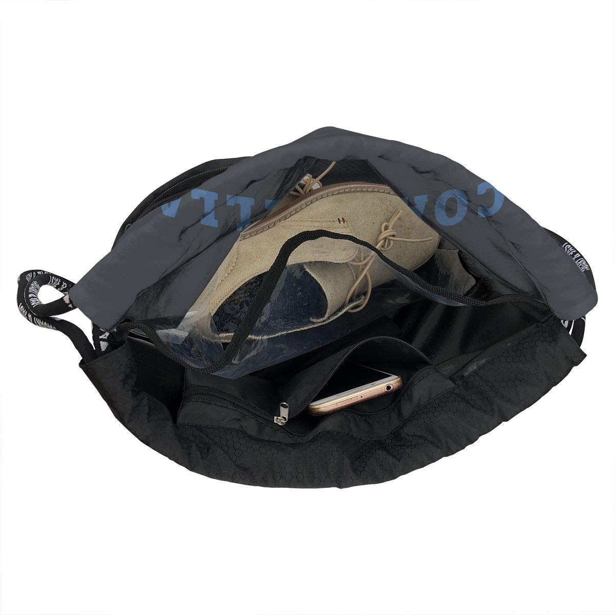 Coachella Men /& Women Drawstring Backpack Beam Mouth Sports Sackpack Rucksack Shoulder Bags