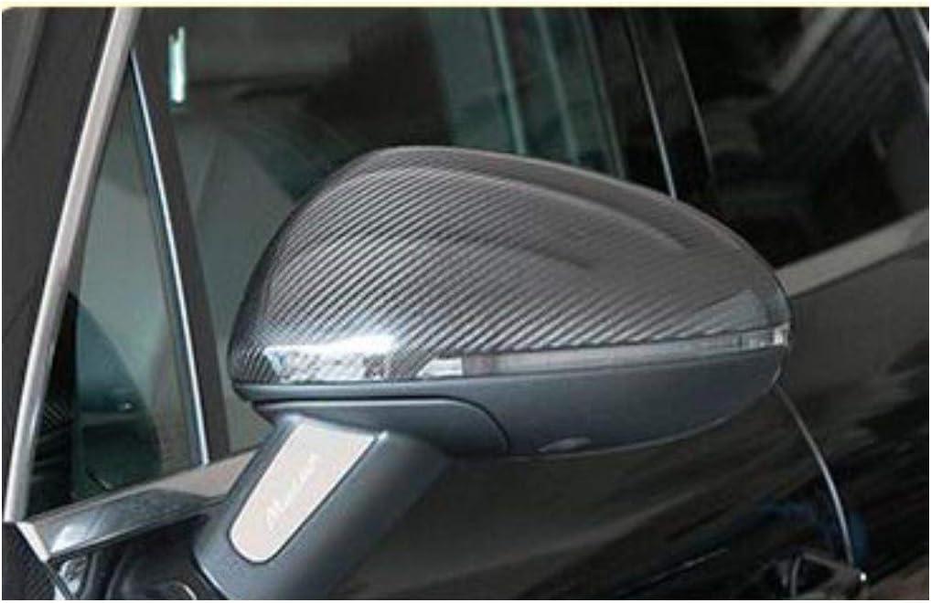 Couverture R/éTroviseur,Fibre Carbone,Couverture Garniture,Arri/èRe Vue,Applicable /à La Porsche Cayenne 11-14,2X Pack De 2 Paste 11-14models Cayenne governingsoldiers