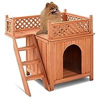 Giantex Wooden Pet Dog House