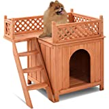 Petsfit 28 Lx21 Wx25 H Indoor Cat House Small Dog House Pet Supplies