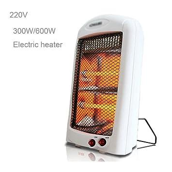 Calefactor 220V Calentador electrónico de la Oficina casera Portable 300 / 600W Calentador del Ventilador eléctrico Calentador electrónico de Thermosta ...
