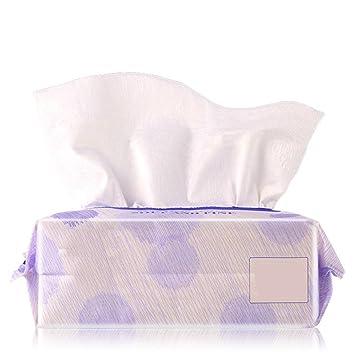 Limpieza de algodón Tejido de algodón facial natural Toalla suave de algodón Toalla de algodón absorbente