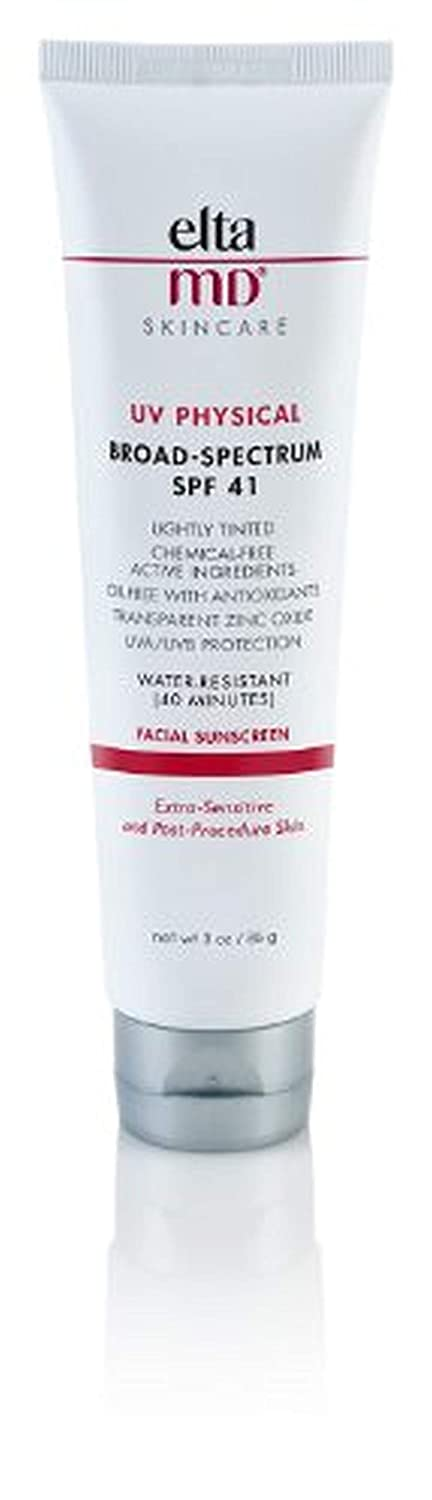 EltaMD UV Physical SPF 41 Facial Sunscreen ,3 oz