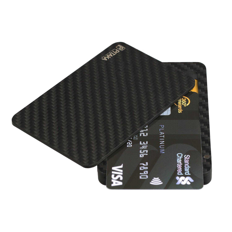 PITAKA Aramidcore Carbon Ultrathin Detachable Magnetic Credit Card ...