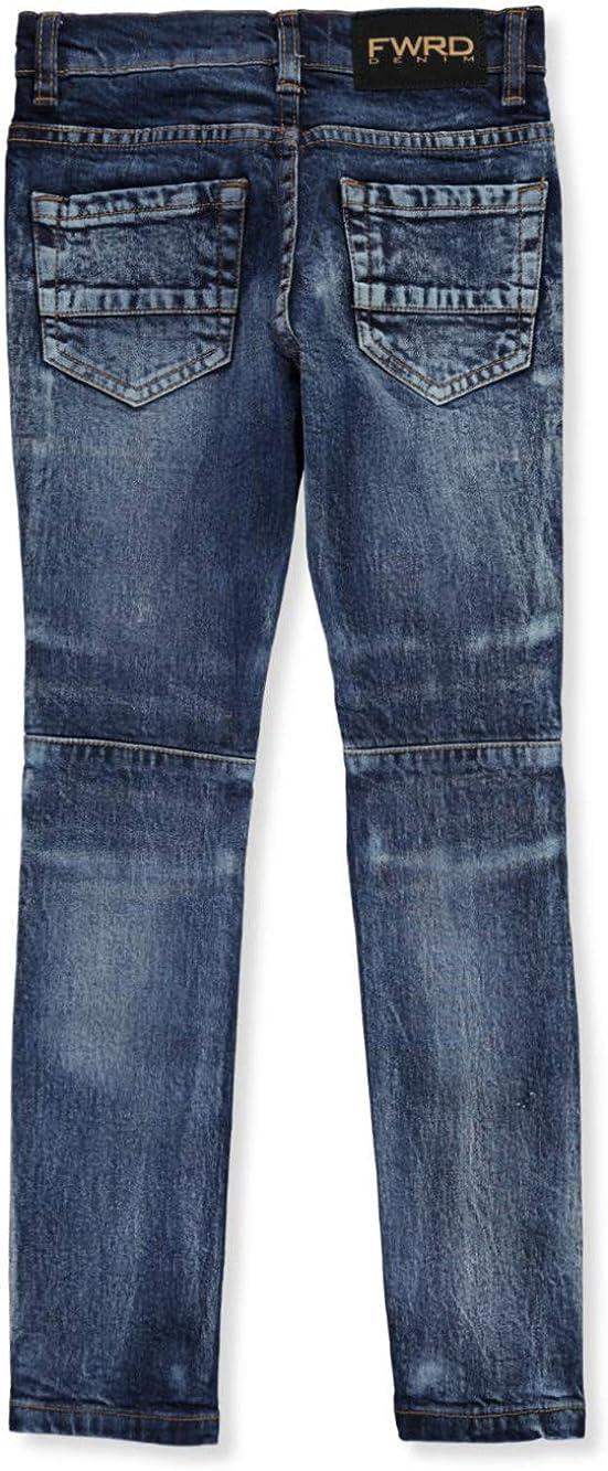 FWRD Boys Whiskered Distress Slim Jeans