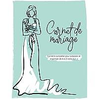 Carnet de mariage   Carnet à compléter pour préparer et organiser de A à Z votre jour J: Wedding planner, 21x28cm, vert