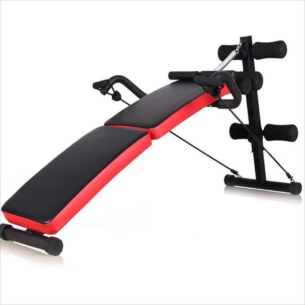 Sit-up Exerciser Board Supine Board / Sit-up Fitness Equipment / Home Abdomen Multi-function Abdominal Muscles Dumbbell Bench / Applicable Place: The Living Room, The Balcony, The Bedroom, The Office